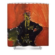 An Isolated Commander Shower Curtain