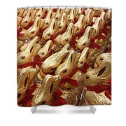 An Ocean Of Bunnies Shower Curtain