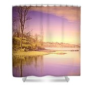 An Okanagan Calm Shower Curtain