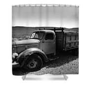 An Old Clunker Shower Curtain