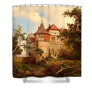 An Old Hunting Lodge Shower Curtain