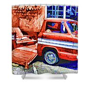 An Old Pickup Truck 2 Shower Curtain