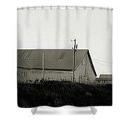 An Old Weathered Barn Shower Curtain