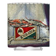 An Old Flame Shower Curtain