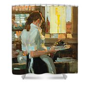 An Order Of Mussels Shower Curtain
