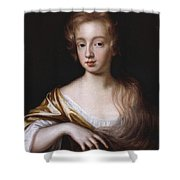 An Unknown Young Lady Shower Curtain