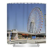 Ana Tower Gate Hotel Shower Curtain