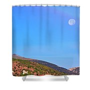 Anaconda Montana - The Letter A Shower Curtain