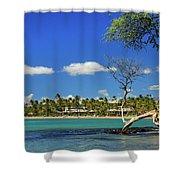 Anaehoomalu Bay Shower Curtain
