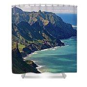 Anaga Mountains Shower Curtain