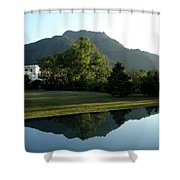 Ananda In The Himalayas, India Shower Curtain