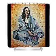 Ananda Mayi Ma Shower Curtain