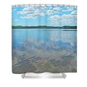 Anasagunticook Lake, Canton, Me, Usa 10 Shower Curtain