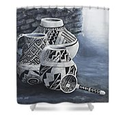 Anasazi Charm Shower Curtain