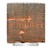 Anasazi Dancers Shower Curtain