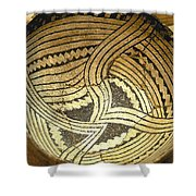 Anasazi Pot Shower Curtain