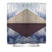 Ancestor Ship Shower Curtain