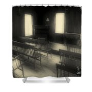 Ancestor Worship Shower Curtain