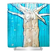 Ancestral Tree Indians To The Sea Shower Curtain
