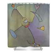 Anchor Points 6 Shower Curtain