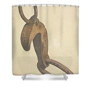 Anchor Trip Hook Shower Curtain