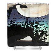 Anchorage Object Shower Curtain