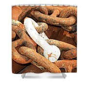 Anchored 3 Shower Curtain