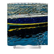 Anchored Boat Shower Curtain