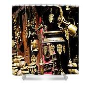 Ancient Antiq In Kathamandu Nepal Shower Curtain