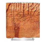 Ancient Art 3 Shower Curtain