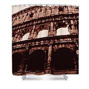 Ancient Colosseum, Rome Shower Curtain