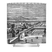 Ancient Corinth, C1894 - To License For Professional Use Visit Granger.com Shower Curtain