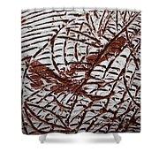 Ancient Dreams - Tile Shower Curtain