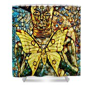 Ancient Goddess The Mother Shower Curtain