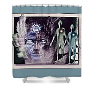 Ancient  Gods Shower Curtain
