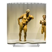 Ancient Greek Artifacts  Shower Curtain