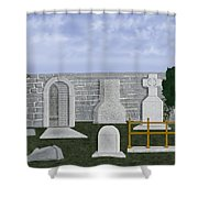 Ancient Irish Stones Image 9577 The Beverlee Chronicles Shower Curtain