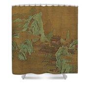 Ancient Landscape Shower Curtain