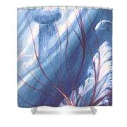 Ancient Latte  Shower Curtain