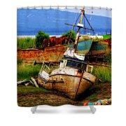 Ancient Mariner Shower Curtain