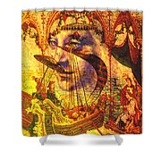 Ancient Of Days Shower Curtain
