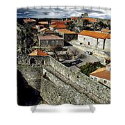 Ancient Portuguese Cities Shower Curtain