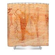 Ancient Rock Art 2 Shower Curtain