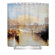 Ancient Rome - Agrippina Landing With The Ashes Of Germanicus Shower Curtain