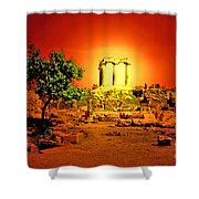 Ancient Ruins Shower Curtain