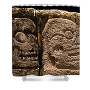 Ancient Skulls Shower Curtain