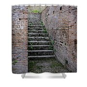 Ancient Stairs Rome Italy Shower Curtain