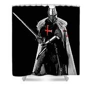 Ancient Templar Knight - 05 Shower Curtain