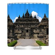 Ancient Temple Shower Curtain