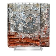 Ancient Wall. Shower Curtain